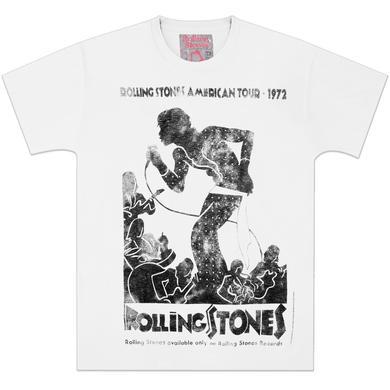 Rolling Stones Vintage Tour Poster T-Shirt