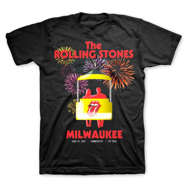 Rolling Stones Milwaukee Event T-Shirt