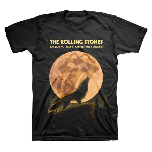 Rolling Stones Raleigh Wolf Event T-Shirt