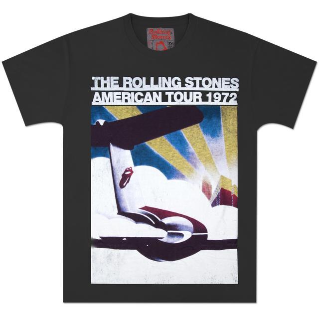 Rolling Stones US Tour Plane Vintage T-Shirt