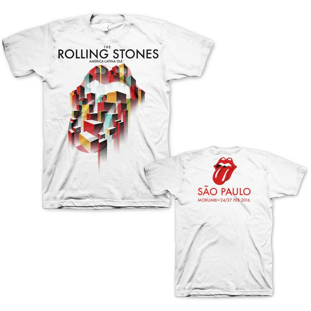 The Rolling Stones São Paulo City T-Shirt
