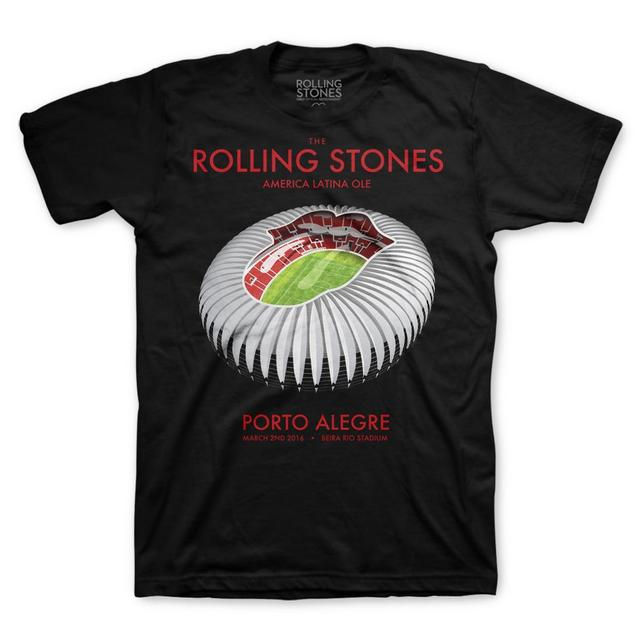 The Rolling Stones Porto Alegre Stadium T-Shirt