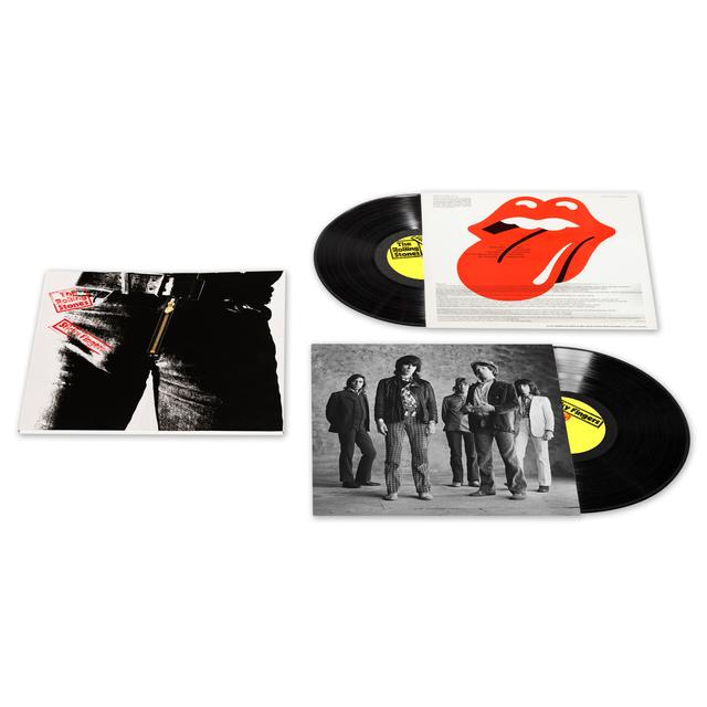 The Rolling Stones Sticky Fingers Deluxe Double Vinyl LP Set