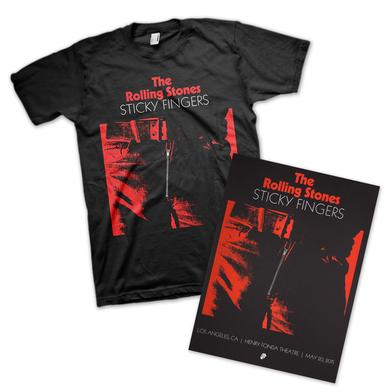 Rolling Stones Sticky Fingers Los Angeles Event Bundle
