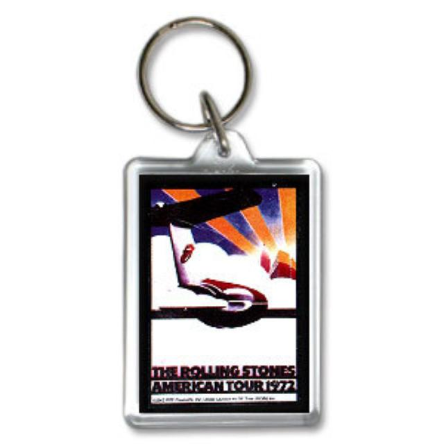 Rolling Stones - US Tour '72 Keychain