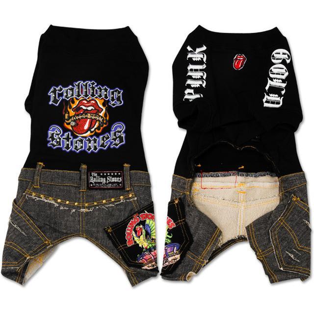 Rolling Stones - Black Doggie Shirt w/ Jeans