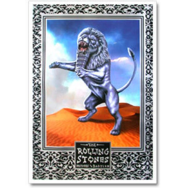 Rolling Stones - Bridges To Babylon Lion Poster