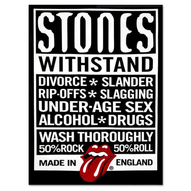 Rolling Stones - Withstand Poster