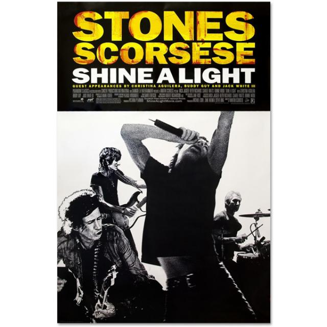 Rolling Stones - Shine A Light Movie Poster