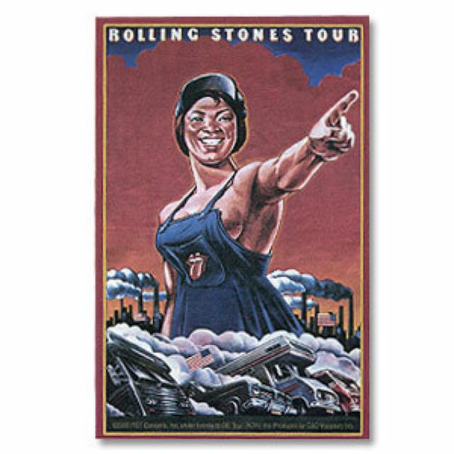 Rolling Stones - '78 U.S. Tour Sticker