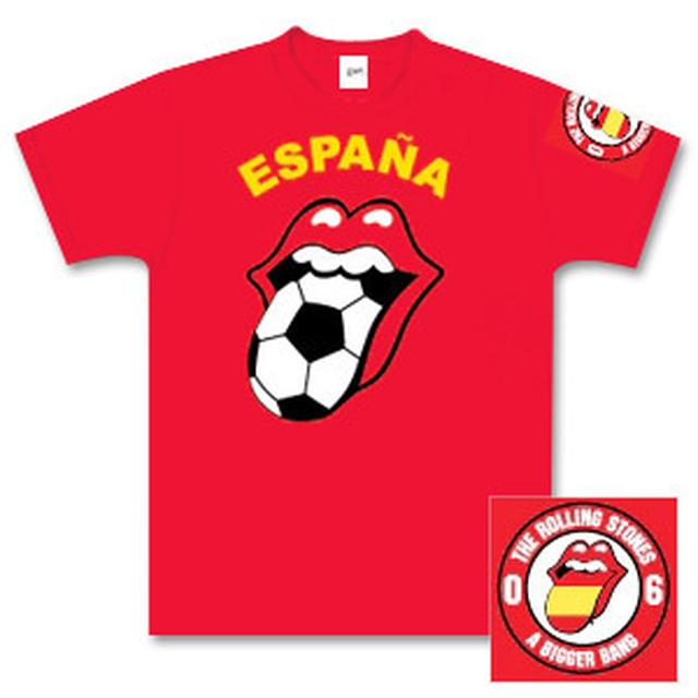 Rolling Stones - Spain Football T-Shirt