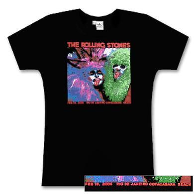 Rolling Stones - Ladies Rio de Janeiro Event/Party People T-Shirt