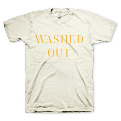 Washed Out Gold Lines T-shirt