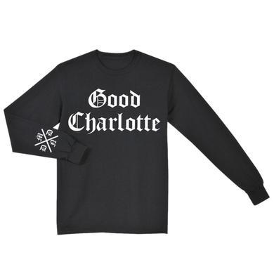 Good Charlotte Old Font Long Sleeve