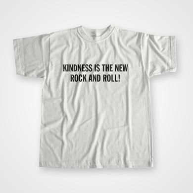 Peace Kindness Is The New Rock And Roll - T-Shirt
