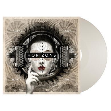 BLACK LIGHT WHITE LIGHT HORIZONS: White Vinyl LP Album LP