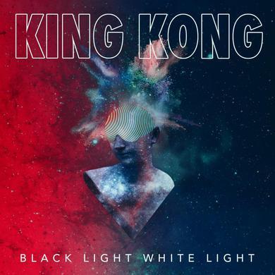BLACK LIGHT WHITE LIGHT Limited Edition King Kong  Silk Screen Print