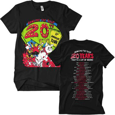 Bowling For Soup -20th Anniversary Tour Tee