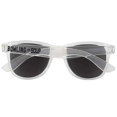 Bowling For Soup - Sunglasses (Translucent Clear frame)