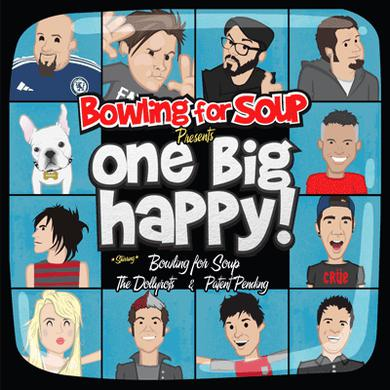Bowling For Soup - One Big Happy - ONE Physical Package (CD)