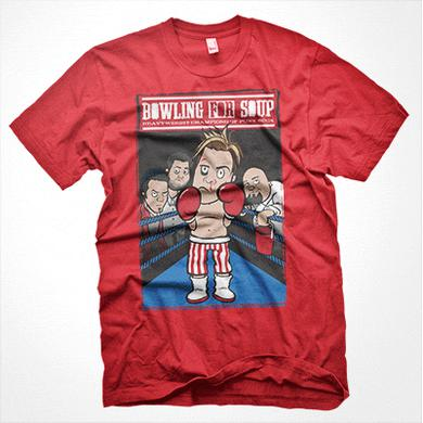 Bowling For Soup - Rocky Tee (Red)