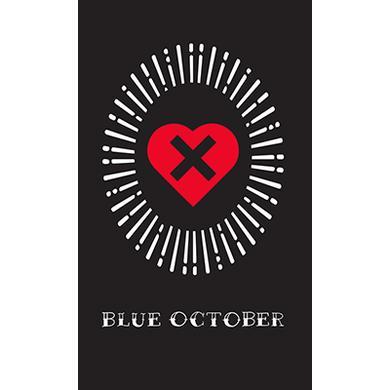 Blue October - Heart X Sticker
