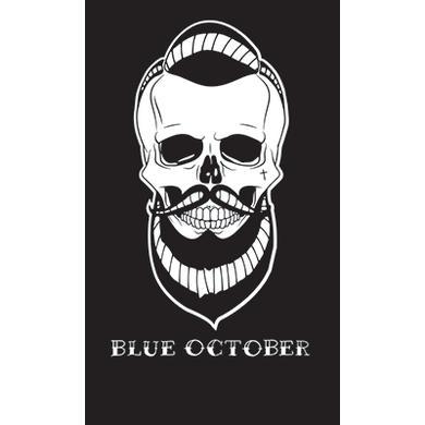 Blue October - Skull Beard Sticker