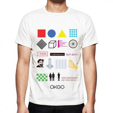 OK Go - The Writing's On the Wall Video Tee