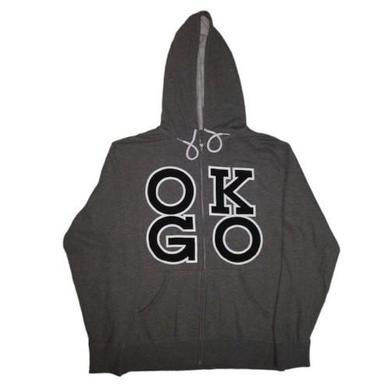OK Go - Square Logo Zip Hoodie