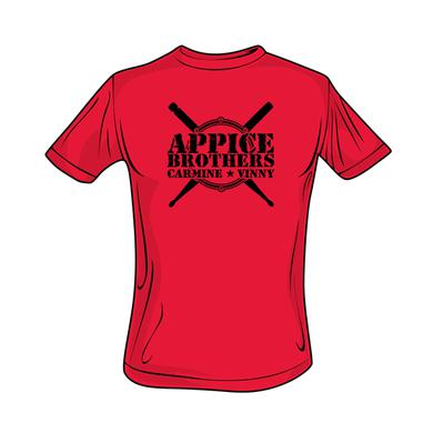 Appice - Appice Bros Logo Tee (Red)