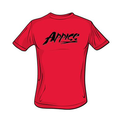 Appice - Logo Tee (Red/Black)