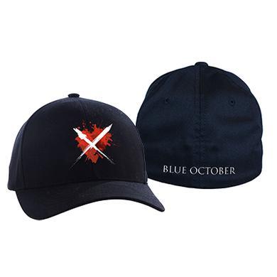 Blue October - Heart X Flex Fit Cap
