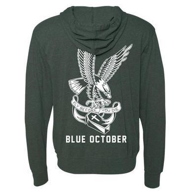 Blue October - Fly Before You Die Beach Hoodie