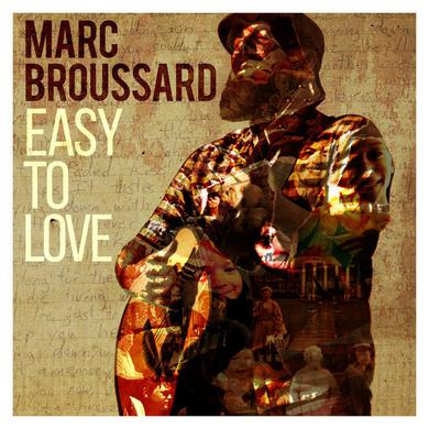 Marc Broussard - Autographed Easy To Love Vinyl