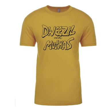 Dweezil Zappa - Dweezil and the Muthas Logo Tee (Gold)