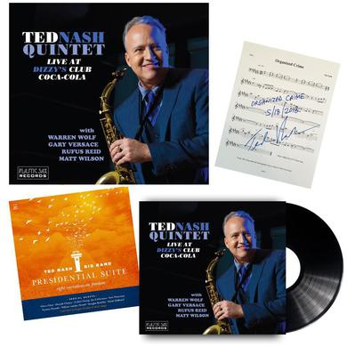 Ted Nash - Gold Package Autographed Set