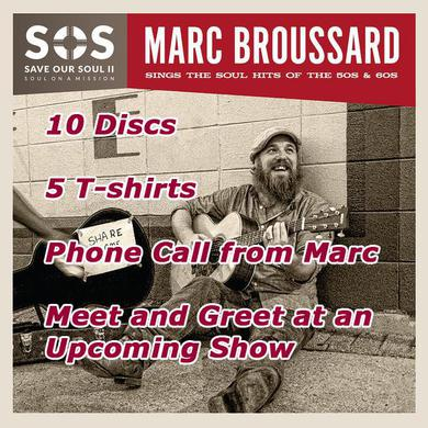 Marc Broussard - Superfan Charitable Bundle