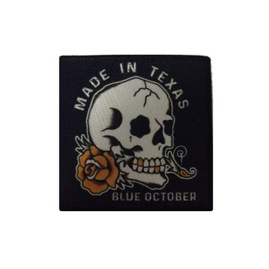 Blue October - Made In Texas Patch