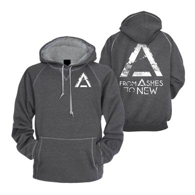 From Ashes to New Crazy Dark Grey Hoodie