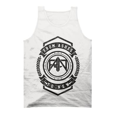 From Ashes to New White Crest Tank