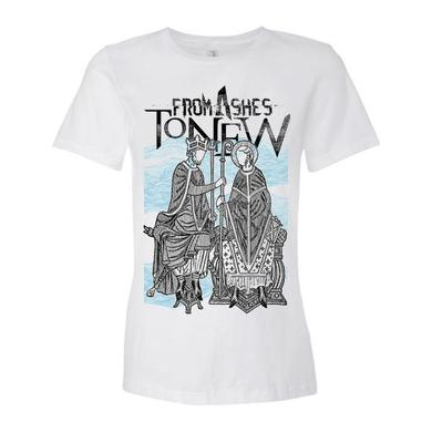 From Ashes to New White King and Queen Womens tee