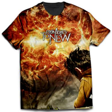 From Ashes to New Day One Cover All Over Tee