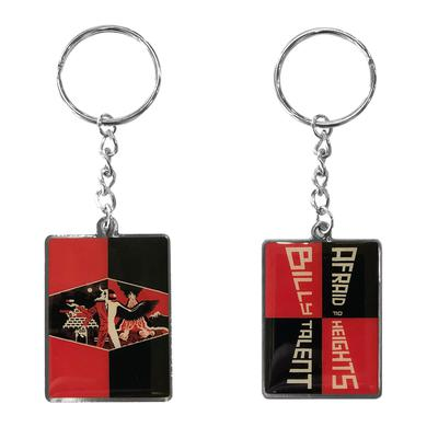 Billy Talent Afraid Of Heights Keyring Black/Red