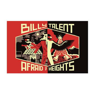 Billy Talent Afraid Of Heights Poster