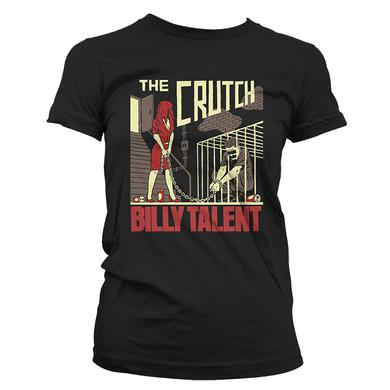 Billy Talent Crutch Ladies T-Shirt