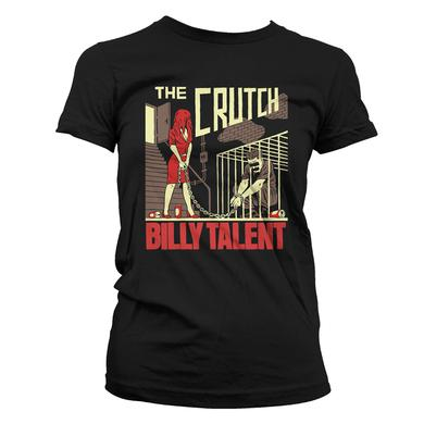 Billy Talent Crutch Mens Black T-Shirt