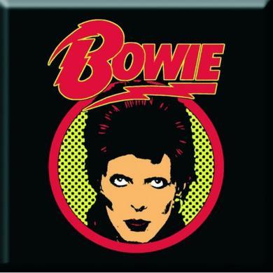 David Bowie Flash Logo Magnet