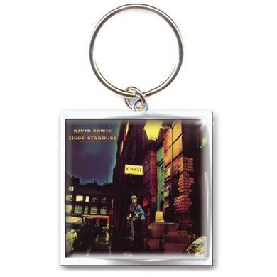David Bowie Ziggy Stardust Metal Keychain