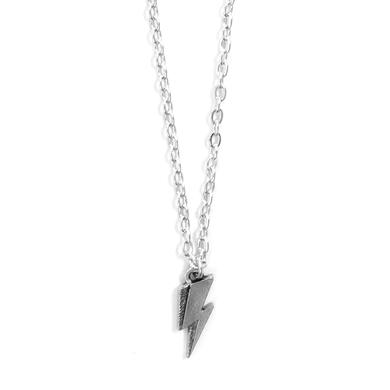 David Bowie Lightning Bolt Pendant Necklace