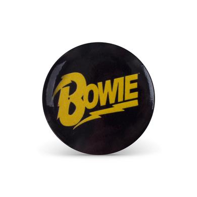 David Bowie Bowie Logo Button Pin